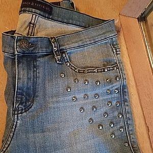 Rock & Republic women sz 10 Jean's.